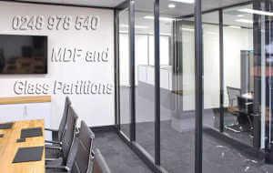 Office renovations Perth.